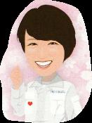 代表取締役 熊谷 さくらのイラスト